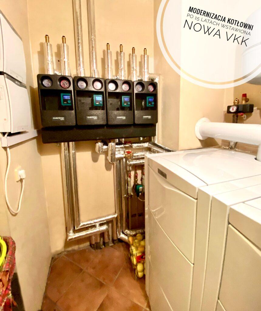 modernizacja w 15 letnim domu | kotłownia gazowa dla domu i technologii basenowej | Szczecin - Mierzyn | HMI Szczecin