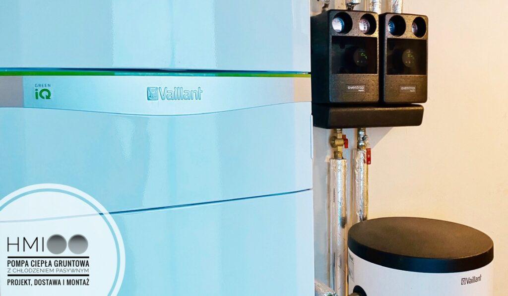 gruntowa pompa ciepła z chłodzeniem pasywnym VAILLANT | Dobra Szczecińska | HMI Szczecin