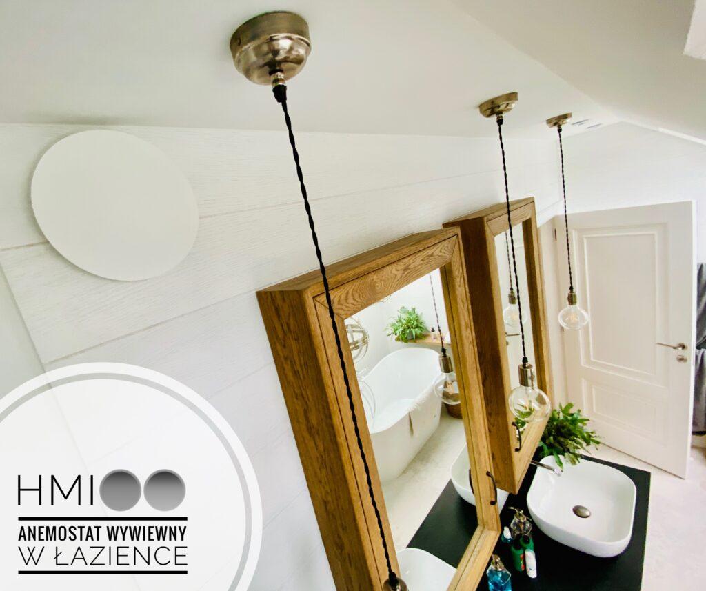 anemostaty VASCO w łazience na ścianie | HMI Szczecin