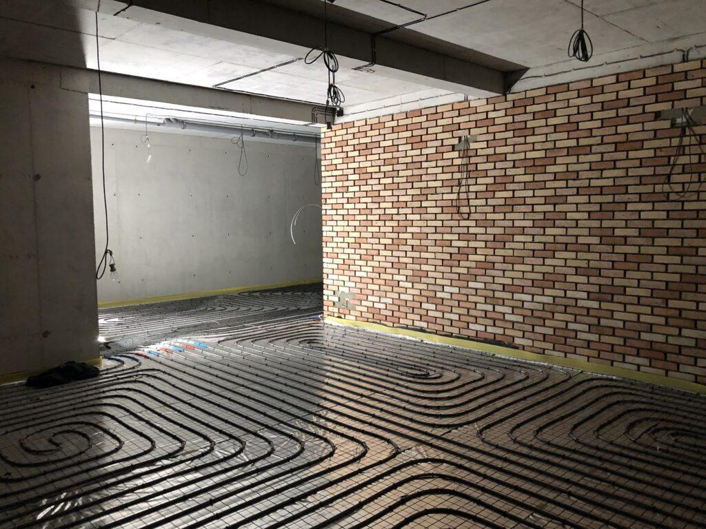 Ogrzewanie podłogowe w budynku mieszkalnym jednorodzinnym | HMI🔴🔵 | Szczecin Warszewo