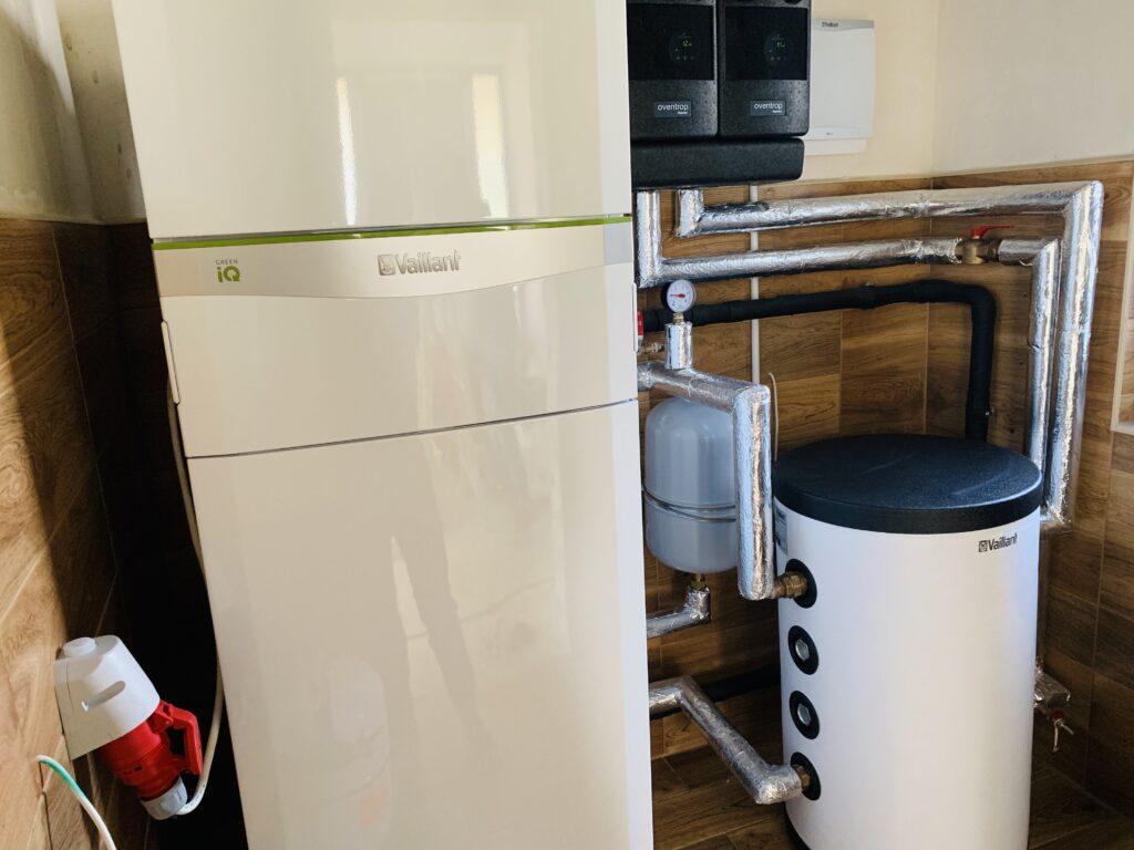 gruntowa pompa ciepła VAILLANT | Ulikowo | HMI Szczecin