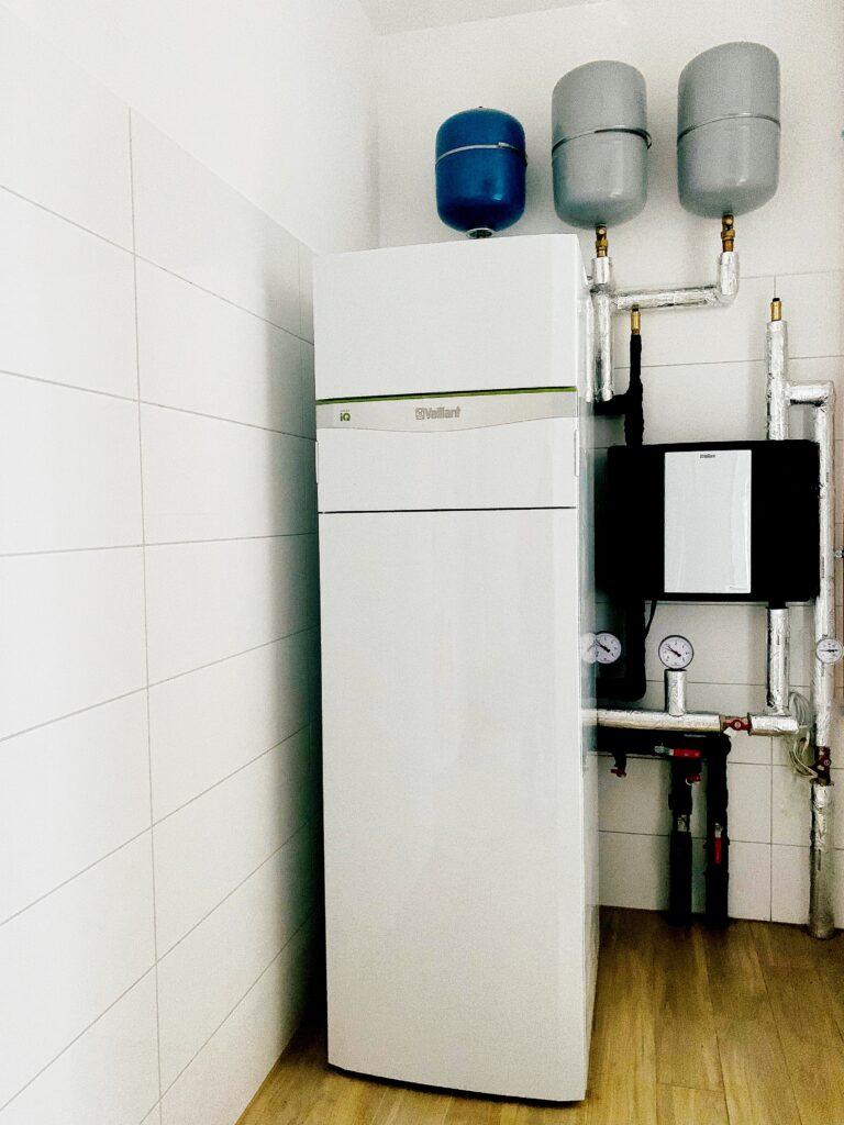 gruntowa pompa ciepła VAILLANT | Dołuje | HMI Szczecin