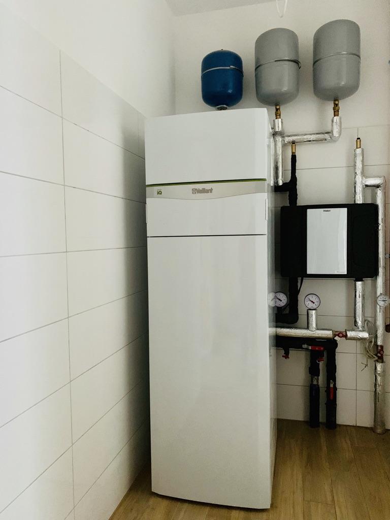 gruntowa pompa ciepła z chłodzeniem pasywnym | Dołuje | HMI Szczecin