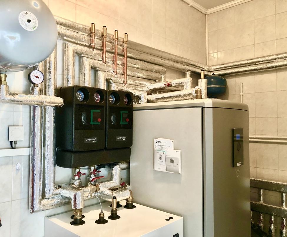 gruntowa pompa ciepła dla ogrzewania domu, cwu i basenu | Mierzyn Osiedle Pod Lipami | HMI Szczecin