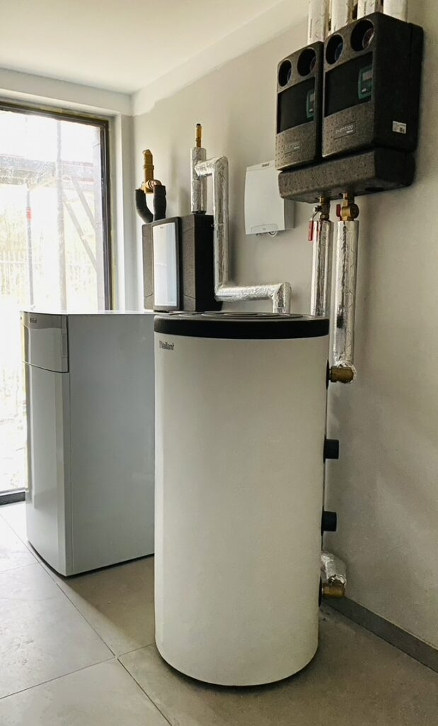 gruntowa pompa ciepła z chłodzeniem pasywnym | Bezrzecze | HMI Szczecin