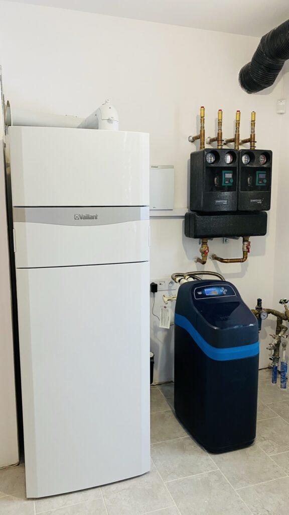 kotłownia VAILLANT dla domu jednorodzinnego | ogrzewanie gazowe | Tanowo | HMI Szczecin