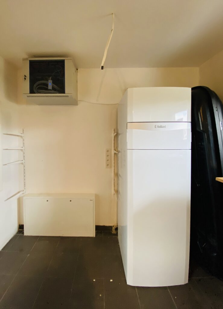 pompa ciepła powietrzna VAILLANT | jednostka wewnętrzna | Grzędzice | HMI Szczecin