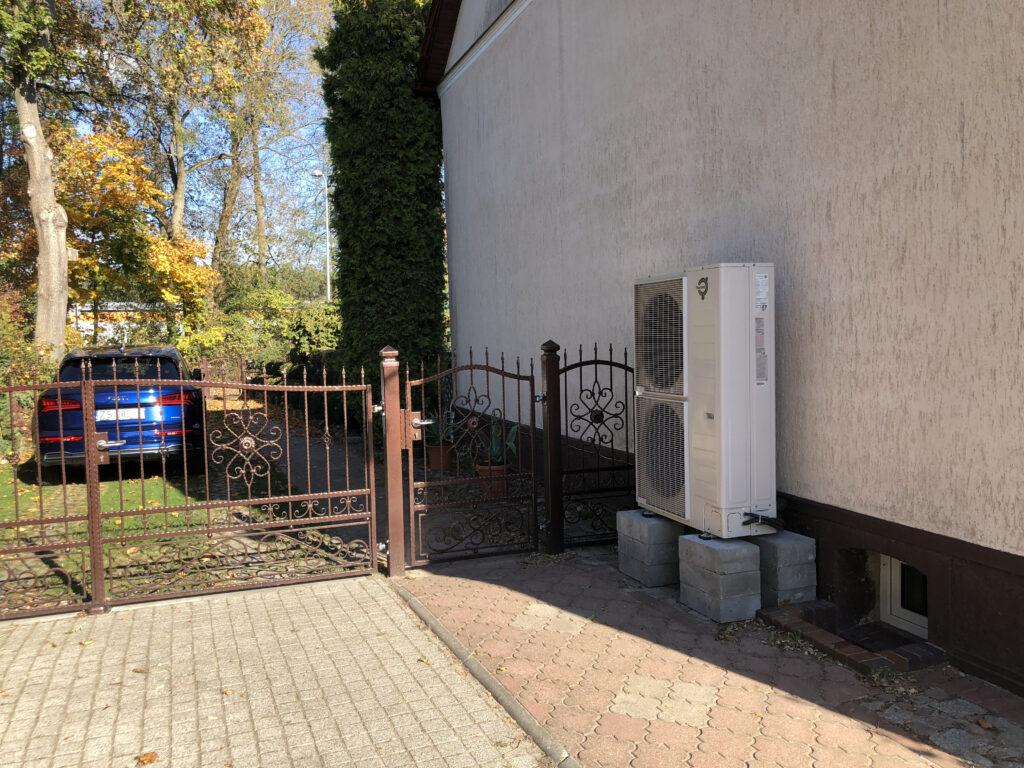 powietrzna pompa ciepła THERMIA | Dębno Cychry | HMI Szczecin