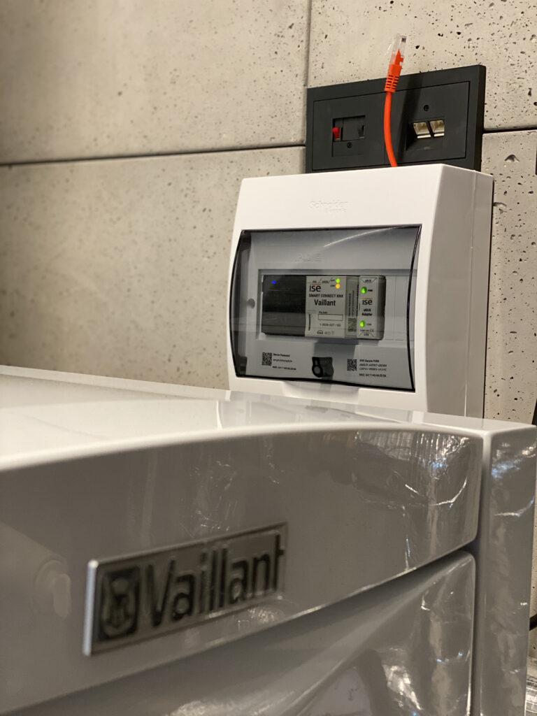 kotłownia gazowa z powietrzną pompą ciepła VAILLANT z | Szczecin - Osów | HMI Szczecin