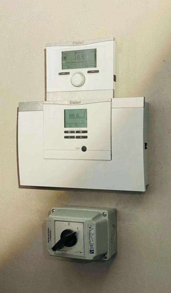 sterowanie ogrzewaniem i chłodzeniem pompy ciepła powietrznej | HMI Szczecin