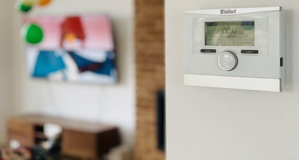 sterowanie | powietrzna pompa ciepła VAILLANT | Grzędzice | HMI Szczecin