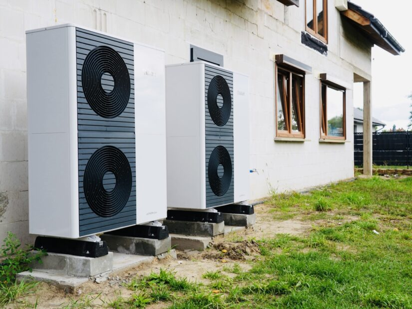 pompa ciepła powietrzna VAILLANT aroTHERM plus monoblok 10kW / prezentacja cichej pracy